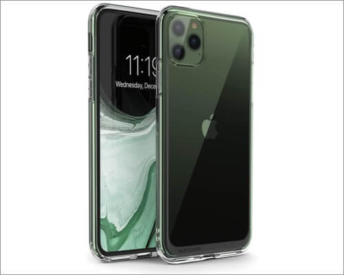 supcase unicorn beetle clear case for iphone 11 pro