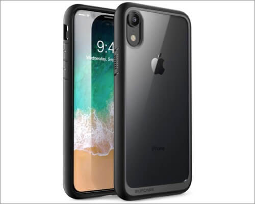 supcase unicorn beetle clear case for iphone xr