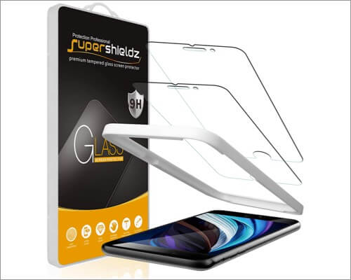 supershieldz screen protector for iphone se 2020