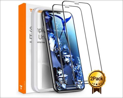 torras diamonds hard screen protector for iphone xr