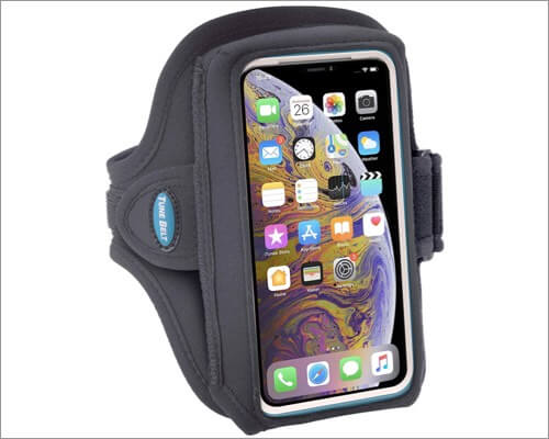 tune belt sweat resistant armband for iphone se 2020