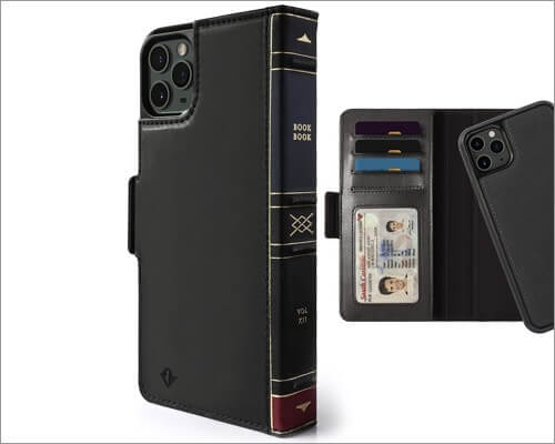 twelve south bookbook wallet case for iphone 11 pro