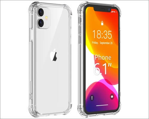 vapesoon iphone 11 slim clear case