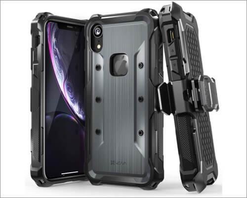 vena rugged belt clip case for iphone xr