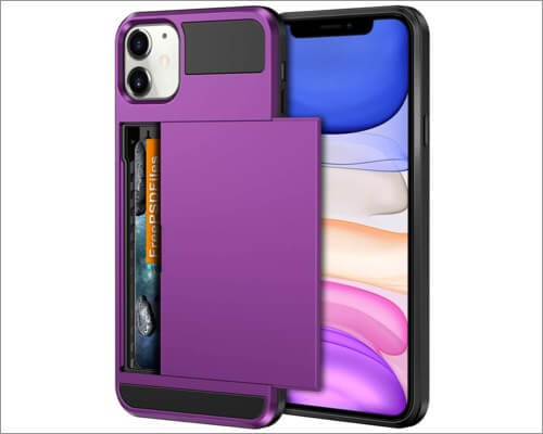 vofolen card holder case for iphone 11