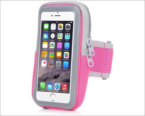 yostyle sports running armband for iphone se 2020