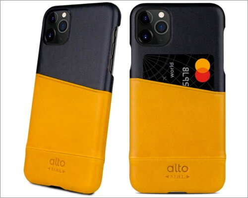alto premium leather case for iphone 11 pro max