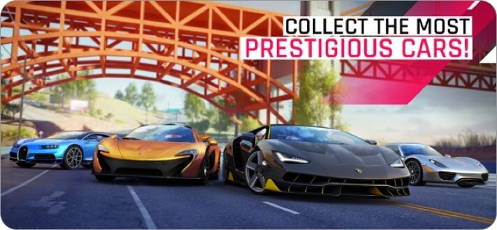 asphalt 9: legends iphone and ipad multiplayer game screenshot