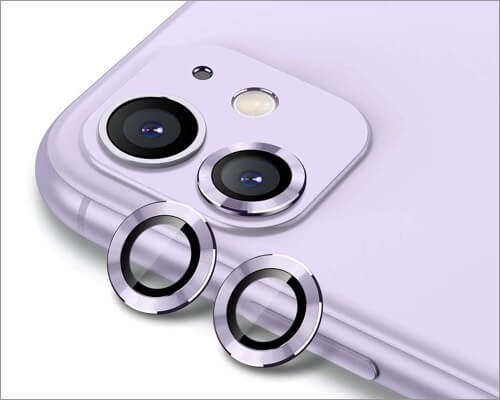 buluby camera lens protector for iphone 11