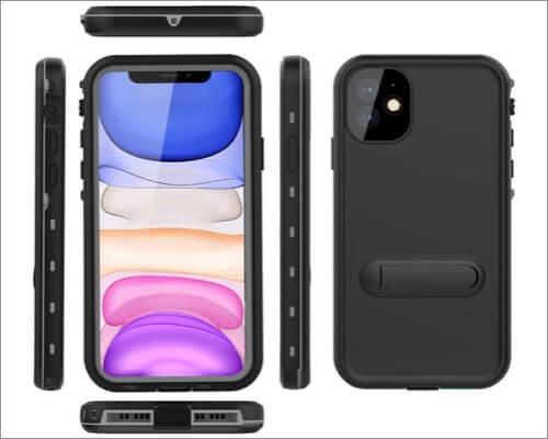 comosso waterproof case for iphone 11