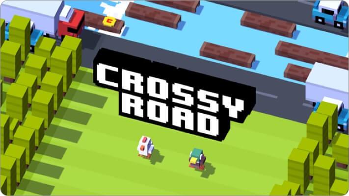 crossy road apple tv game screenshot