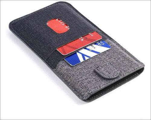 dockem luxe wallet sleeve for iphone xr