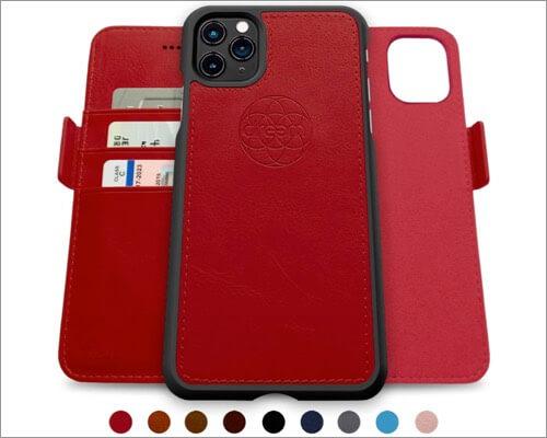 dreem fibonacci 2-in-1 wallet case for iphone 11 pro max