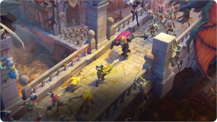 dungeon hunter 5 apple tv game screenshot