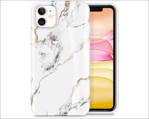 givewin marble case for iphone 11, 11 pro and 11 pro max