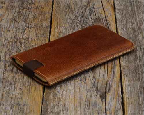 harper studio italian leather sleeve for iphone xr