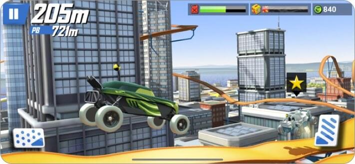 hot wheels: race off iphone and ipad kids game screenshot