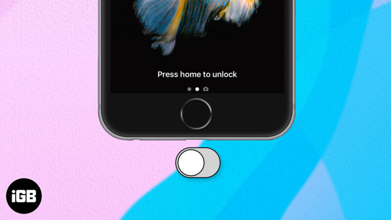 """How to Disable """"Press Home to Unlock"""" on iPhone and iPad"""