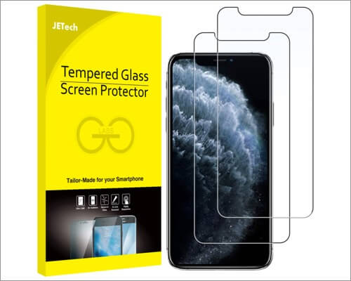 jetech screen protector for iphone 11 pro max