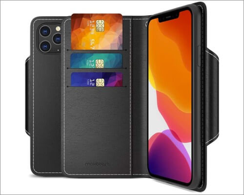 maxboost mwallet folio case for iphone 11 pro max