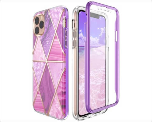 miracase full-body bumper cover for iphone 11, 11 pro and 11 pro max