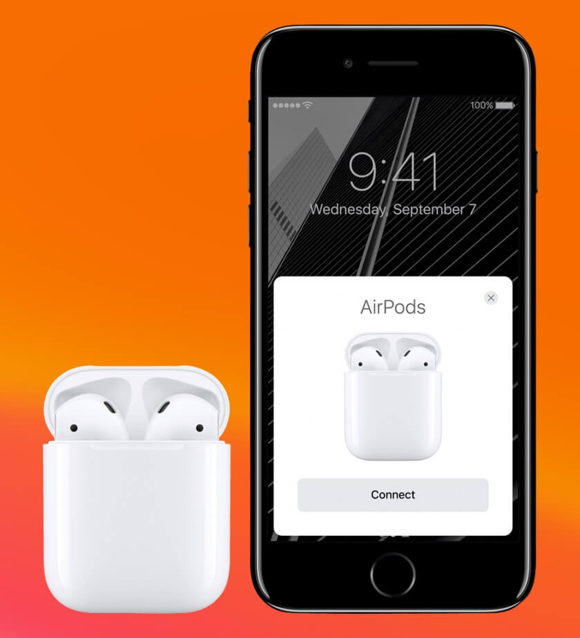 pair airpods with iphone
