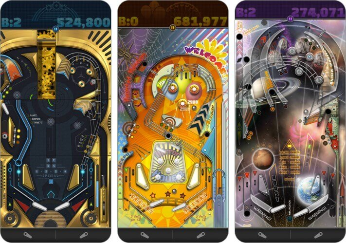 pinball deluxe reloaded iphone and ipad game screenshot