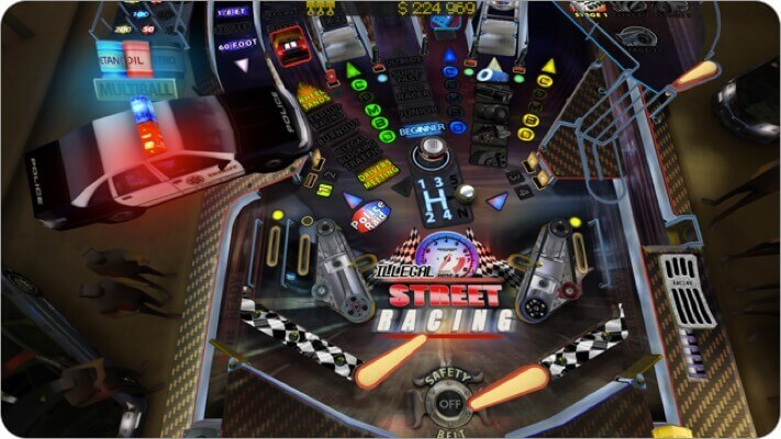 pinball hd collection iphone and ipad game screenshot
