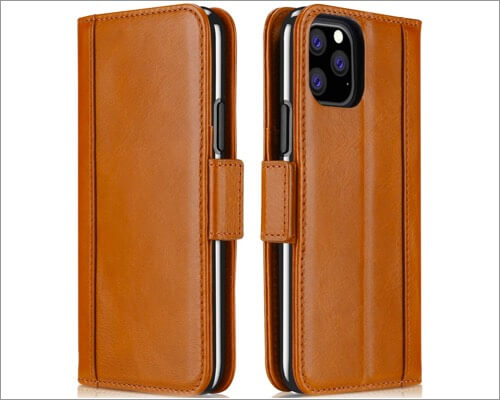 procase leather case for iphone 11 pro max