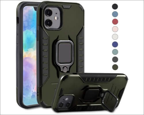 punytoncy protective waterproof case for iphone 11
