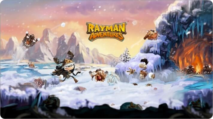 rayman adventures apple tv game screenshot