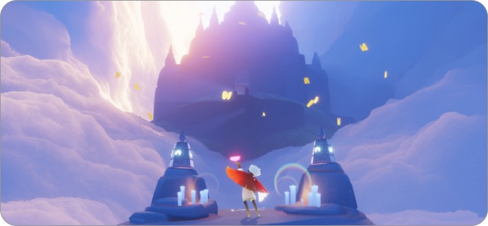 sky children of the light iphone and ipad kids game screenshot