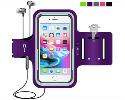smartile running armband for iphone 11, 11 pro and 11 pro max