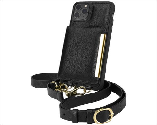 smartish crossbody wallet case for iphone 11 pro max