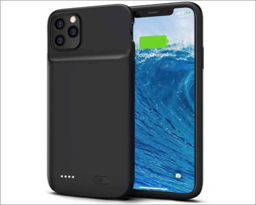 smiphee iphone 11 pro max portable battery case
