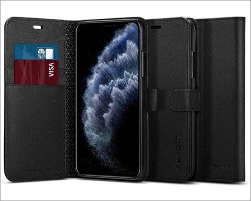 spigen wallet case for iphone 11 pro max