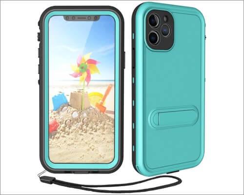 transy iphone 11 pro max waterproof bumper case