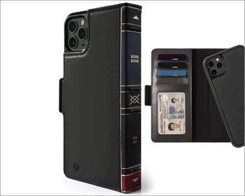 twelve south bookbook wallet case for iphone 11 pro max