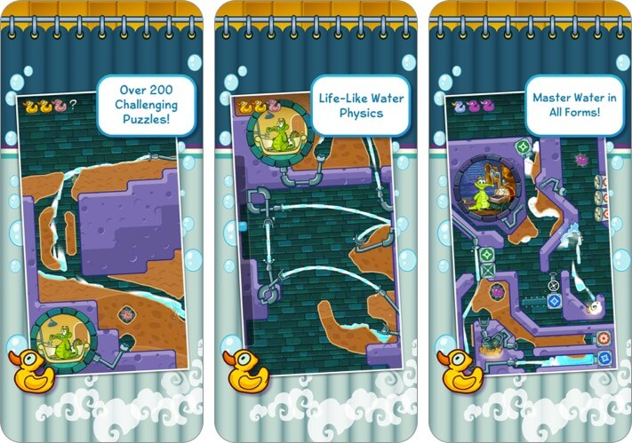 where's my water? iphone and ipad kids game screenshot