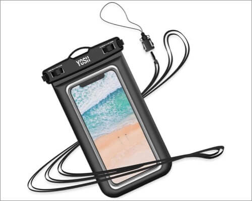 yosh waterproof pouch for iphone 11