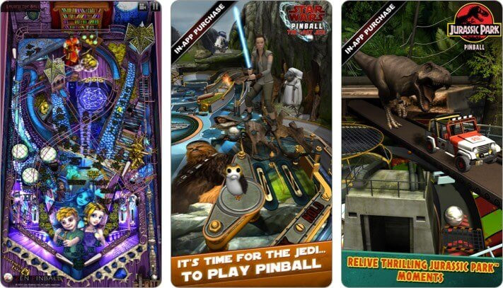zen pinball iphone and ipad game screenshot