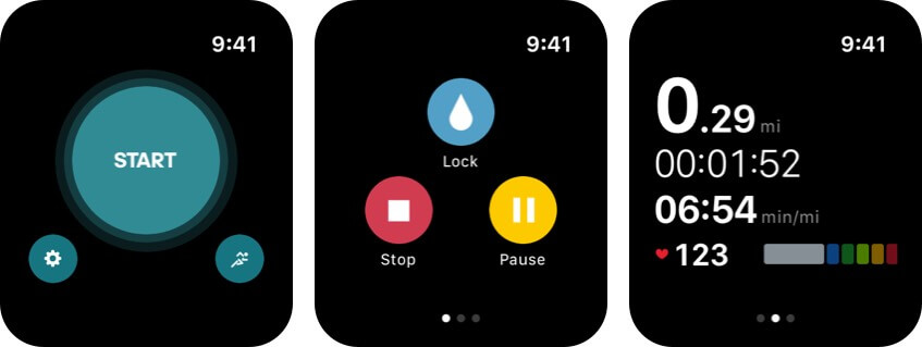 adidas running apple watch health app screenshot