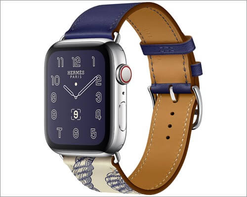 apple watch hermes leather band for apple watch series 5