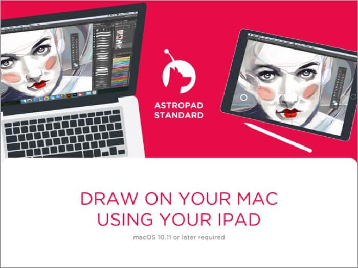 astropad standard ipad app screenshot