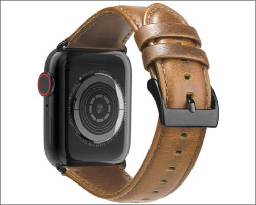brg leather bands for apple watch series 5