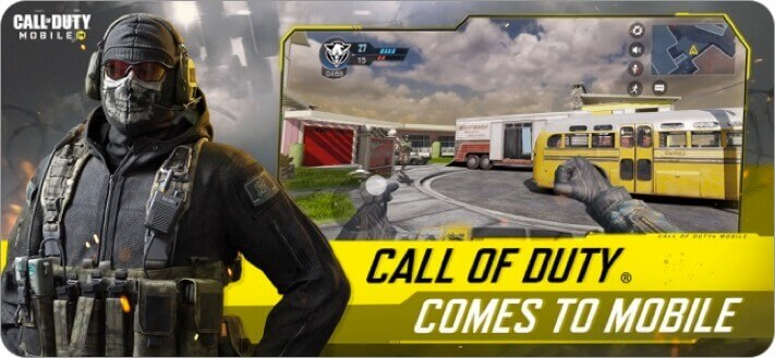 call of duty mobile iphone game screenshot