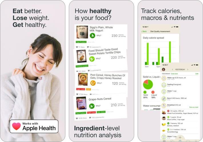 fooducate iphone and ipad weight loss app screenshot