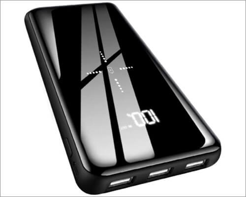 grecei wireless power bank for iphone 11, 11 pro, and 11 pro max