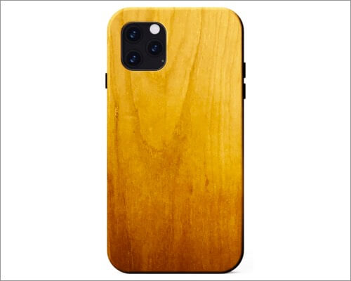 kerf wooden case for iphone 11