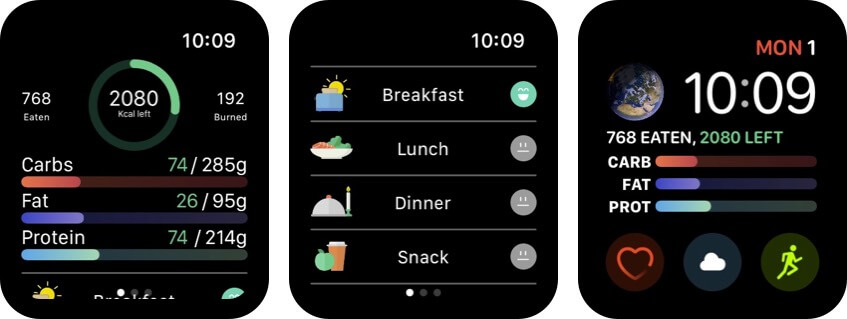lifesum apple watch health app screenshot